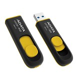 ADATA DashDrive 8GB [UV128] - Yellow - Usb Flash Disk Basic 3.0